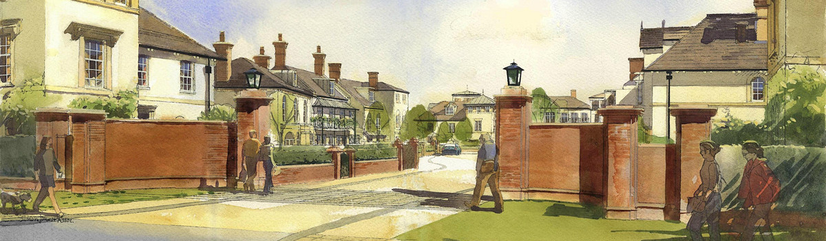 Architectural Watercolour by Simon Jones and Associates